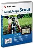 MagicMaps Scout 4.0 (D) Outdoorerweiterung für Becker Navigationsgeräte mit Tour Explorer 50 Deutschland
