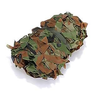 OUTERDO Rete Mimetica da Caccia 6,6ft x 9ft per Camouflage Deserto Woodland