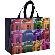 Einkaufstasche I Telephone London I Designer Tasche von ASSAF I Faltbar
