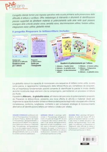 Allenare... la globalità visiva. Quaderno per l'allievo. Per la Scuola elementare (Prerequisiti)