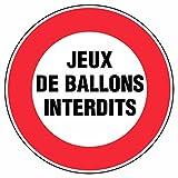 Novap-tabellone-Gioco di palloni vietati rigida, diametro 300 mm