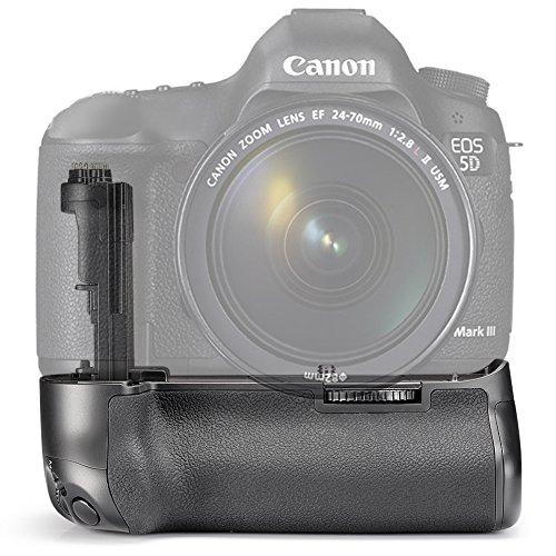 Neewer® Professionelle vertikale Batteriegriff (Ersatz für Canon BG-E11) funktioniert mit 1 oder 2 Stück LP-E6 Akkus oder 6 Stück AA-Batterien für Canon EOS 5D Mark III / 5DS / 5DSR Digitale Spiegelreflexkameras