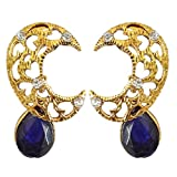 Peora Crescent Moon Drop Earrings For Gi...