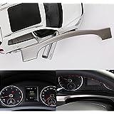 Emblema Trading Volkswagen Tiguan Marco para cuentakilómetros Acero Inoxidable TSI TDI Rline AB BJ.2010hasta hoy