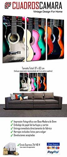 Imagen de cuadro moderno fotografico  españolas de colores, flamenco, 97 x 62 cm, ref. 26744 alternativa
