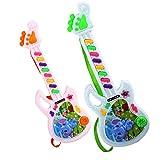 Juguete musical de la guitarra eléctrica Juego para el niño del cabrito Juguete electrónico del aprendizaje del niño