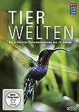DVD Cover 'Tierwelten - Die schönsten Dokumentationen aus 25 Jahren (Die DVD-Edition Teil 1, 9 Folgen + Bonus) [3 DVDs]