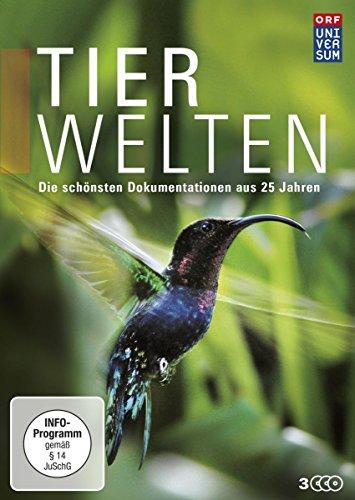 Tierwelten - Die schönsten Dokumentationen aus 25 Jahren (Die DVD-Edition Teil 1, 9 Folgen + Bonus) [3 DVDs]