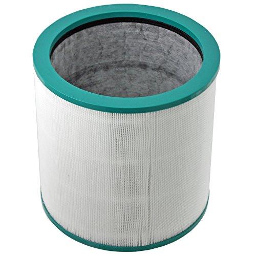 "Spares2go, filtro HEPA ""360° glass"", per aspirapolvere Dyson torre Pure Cool Link purificatore d'aria"