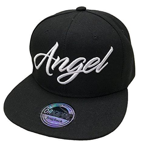 Angel & Devil SNAPBACK Set USA Cap Kappe Basecap Mütze Trucker Cappy Kult Partner Look (Angel)