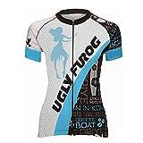 Uglyfrog ZO05 2018 New Damen schließen Hülsen Zyklus Jersey Kurzarm Fahrradtrikot Fahrrad Hemd Fahrrad Top Outdoor Sports Radfahren Frauen Trikot