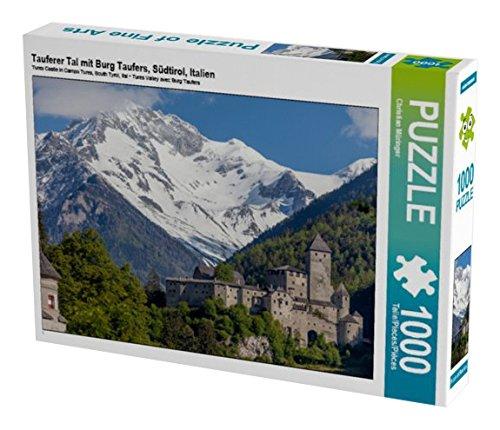 Preisvergleich Produktbild Tauferer Tal mit Burg Taufers,  Südtirol,  Italien 1000 Teile Puzzle quer