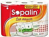 Sopalin Essuie-Tout sur Mesure Décore 3 = 6 Rouleaux