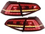 Depo LED Rückleuchten Original-Optik Heckleuchten Rücklichter RV50DLRC