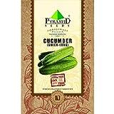 Pyramid Long Cucumber Seeds (1.2g, Green)