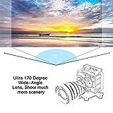 Lorenlli 4K 30FPS 16MP Action Kamera Full HD 1080P 60fps Wasserdichte Cam WiFi Camcorder 170D Mini 2.0