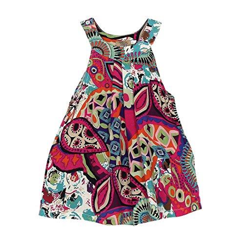 91bbe71647345 Internet-Bébé-filles-enfants-Coton-Robes-sans-manches-