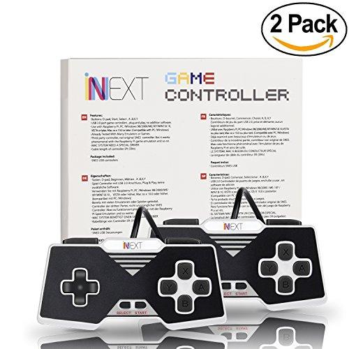 innext-2-x-super-snes-super-nintendo-controlador-retro-usb-controller-clsico-snes-clsico-ubs-gamepad