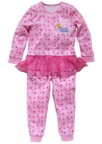 Peppa Pig Pink Tutu Dress Onesie All-in-one Pyjamas - Licensed
