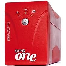 Salicru SPS.700.ONE - Fuente de alimentación continua (UPS) (700 VA, 360 W, 50/60 Hz, Sealed Lead Acid (VRLA), 4 h, Rojo)