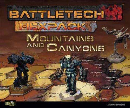 Battletech Hexpack Mountains &