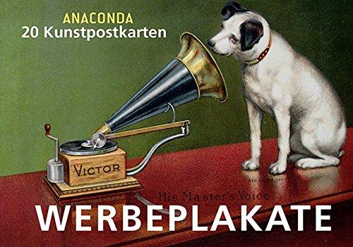 Postkartenbuch Werbeplakate