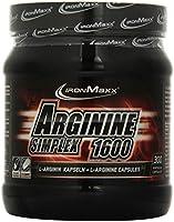 Ironmaxx Arginin Simplex 1600, 300 Kapseln, 1er Pack (1 x 0,502 kg)