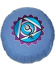 Zafu - chakra vishuddha - bleu