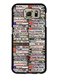 Cassette Tape Stack Photography Style custodia per Samsung Galaxy S6