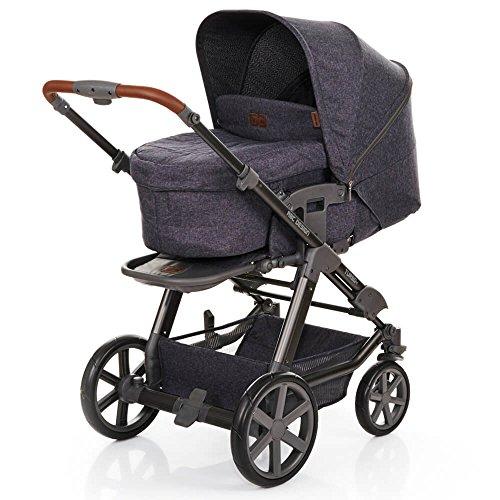 ABC Design Turbo 4 - Kombikinderwagen - Komplett-Set 2in1 - inkl. Babywanne & Sportwagen (Street)