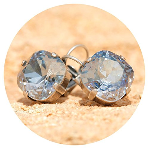 warovski crystals blue shade silber ()