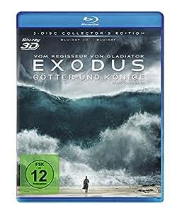 Exodus - Götter und Könige [3D Blu-ray] [Collector's Edition]