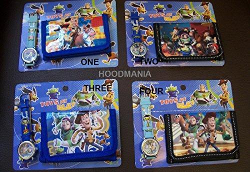 Toy story orologio da polso e portafogli portamonete set. Scegli tra 4Zufällier Permitting.
