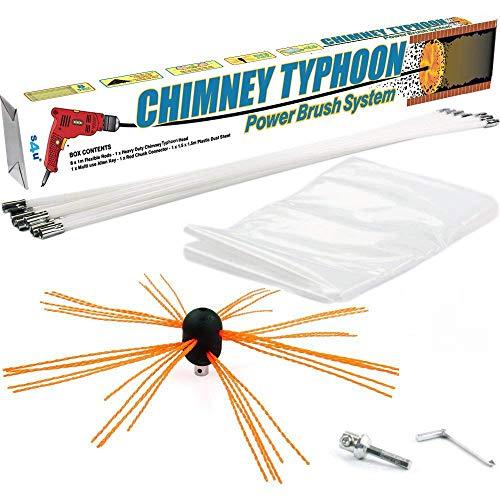 Chimney Typhoon Power Sweeping Set S4U® (12 Metre)