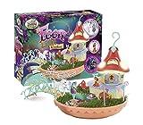 My Fairy Garden Spielzeugset & Nachtlicht – Feen Licht Garden für Kinder ab 4 Jahren zum selber Pflanzen Spielen Züchten Forschen inkl. Grasssamen