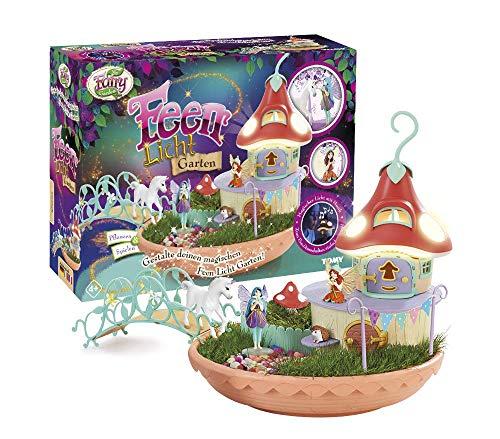 My Fairy Garden Toy Set & Nightlight - Fairies Light Garden para que los niños de 4 años se planten...