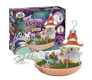 My Fairy Garden Toy Set & Nightlight - Fairies Light Garden para que los niños de 4 años se planten ellos mismos.