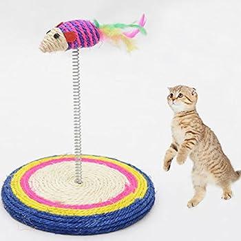 Chat interactif, Share Lot Jouet pour chat avec souris Teaser Jouet pour chat unterhalt fin Scratching