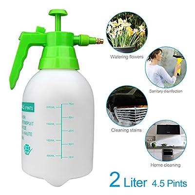 VOXON Pump Action Pressure Sprayer, Garden Knapsack Sprayer