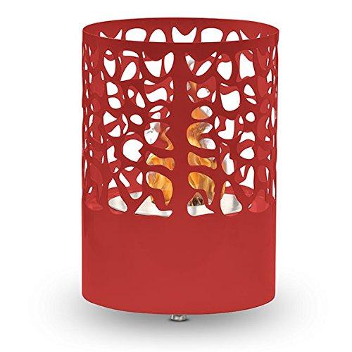 Acapulco--rojo-chimenea-etanol-de-mesa-Mini-sartn-Bio