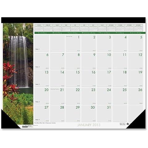 Cascate del mondo Mthly fotografica-Calendario da scrivania, 45 x 13, 2013