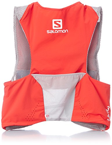 Salomon S Lab Sense Ultra Set - Mochila, color rojo, talla M / L