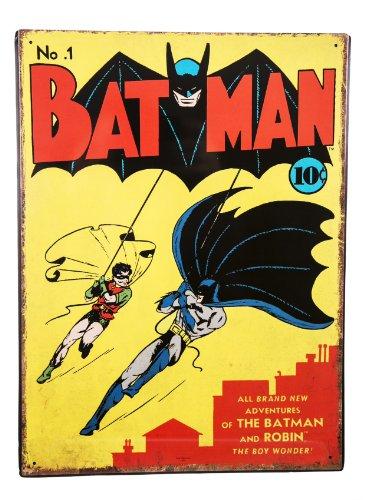 Batman   Batman No 1  Targa Metallica