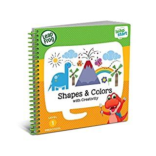 LeapFrog 21503 LeapStart Nursery Shapes/Colours and Creative Expression Activity Book