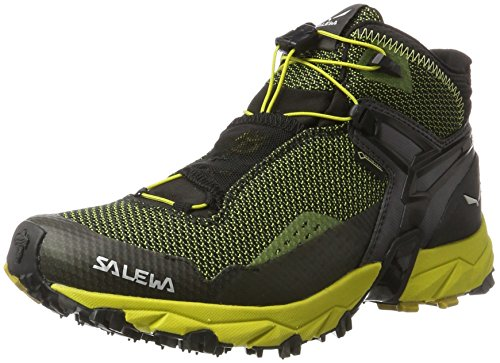 Salewa Ms Ultra Flex Mid GTX, Chaussures de Randonnée Basses Homme, Noir, 11 UK