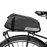 Roswheel 7L Fahrradtasche Fahrrad Satteltasche Gepäcktasche Gepäckträger Tasche Rucksack Schultertaschen