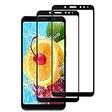 TOPLIN [2-Pack Pellicola Vetro Temperato Xiaomi Redmi Note 5, Pellicola Protettiva Xiaomi Redmi Note 5, HD Alta Trasparente, 2.5D Bordi Arrotondati, Durezza 9H Ultra Resistente …