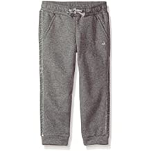 Calvin Klein Girls' Sparkle Sweatpant,