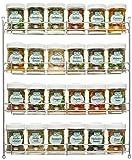 Fuchs 24er Gewürzregal gefüllt, silber 1er Pack