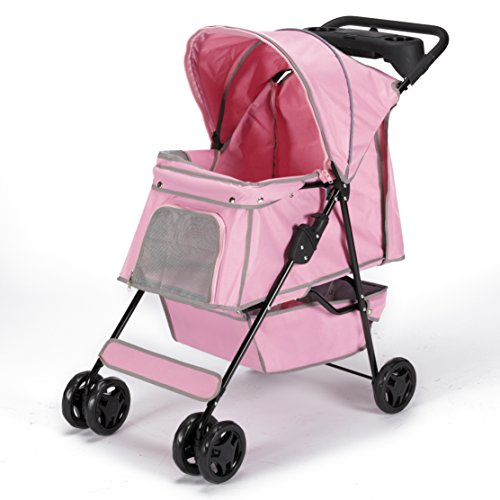 Guardian Gear Promenade Pet Buggy, Rosa -